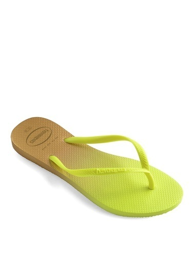 Havaianas Havaianas Kadın Neon Sarı Plaj Terliği Sarı